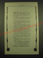 1902 The Aeolian Pianola Ad - There has never in the history