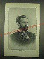 1902 Magazine Print of a Photograph of Lord Aberdeen - Photograph by Notman