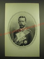1902 Magazine Print of Prince Henry of Prussia