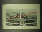 1902 Print of the Washington Monument - Drawn by C. Graham