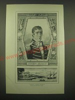 1902 Magazine Print of General Andrew Jackson - by F. Cardon