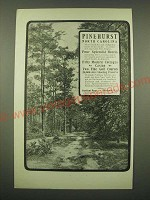 1902 Pinehurst North Carolina Ad