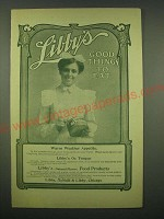 1902 Libby's Ox Tongue Ad - Libby's good things to eat