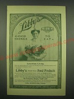 1902 Libby's Food Products Ad - Libby's good things to eat