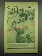 1902 Swift's Premium Hams & Bacon, Silver Leaf Lard Ad