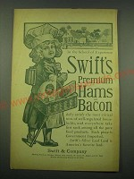 1902 Swift's Premium Hams and Bacon Ad - In the school of experience