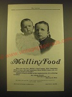 1902 Mellin's Food Ad