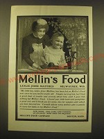 1902 Mellin's Food Ad - Leslie Jesse Matthes Milwaukee, Wis.