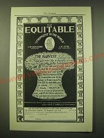 1902 Equitable Insurance Ad - The harvest