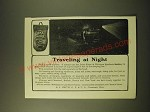 1902 Lake Shore & Michigan Southern Railway Ad - Traveling at Night