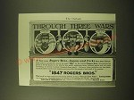 1902 1847 Rogers Bros. Silver Ad - Through Three Wars