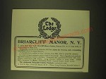 1902 Briarcliff Manor Ad - The Lodge