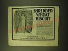 1902 Natural Food Shredded Wheat Biscuit Ad - Shredded Whole Wheat Biscuit