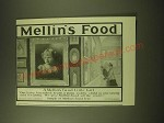 1902 Mellin's Food Ad - Jean Mary Douglass - A Mellin's Food little Girl