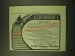 1902 Oldsmobile Car Ad - The Oldsmobile The best thing on wheels