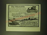 1902 oldsmobile Car Ad - The Oldsmobile Pioneer Gasoline Runabout