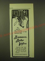 1902 National Biscuit Company (Nabisco) Bremner's Butter Wafers Ad