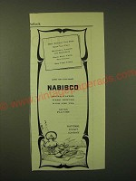 1902 National Biscuit Company Nabisco Sugar Wafers Ad - Mrs. Edward Van Pelt