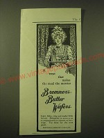 1902 National Biscuit Company (Nabisco) Bremner's Butter Wafers Ad - A treat