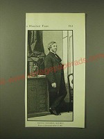 1902 Magazine Print of a photograph of Oliver Wendell Holmes