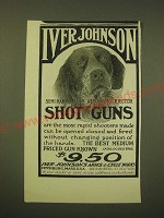 1902 Iver Johnson Shot Gun Ad - Dog