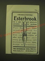 1902 Esterbrook Steel Pen Flyer No. 531 Ad - The name is everything