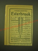 1902 Esterbrook Steel Pen Professional No. A1 Ad - The name is everything