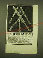 1902 1847 Rogers Bros. Carving Sets Ad