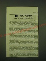 1902 Postum Food Coffee and Grape-Nuts Cereal Ad - The new woman made over