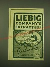 1902 Liebig Company's Extract of Beef Ad - Tis the little things that tell