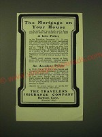 1902 The Travelers Insurance Company Ad - The mortgage on your house