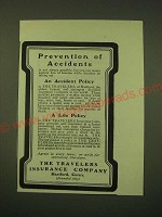1902 The Travelers Insurance Company Ad - Prevention of accidents