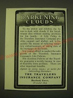 1902 The Travelers Insurance Company Ad - Darkening Clouds