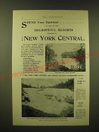 1893 New York Central Ad - Spend your summer at one of the delightful resorts