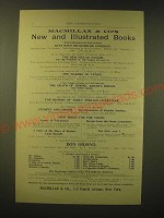 1893 Macmillan & Co. Books Ad - Macmillan & Co's New and Illustrated Books