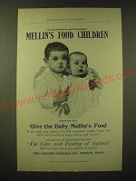 1893 Mellin's Food Ad - We are advertised by our loving friends