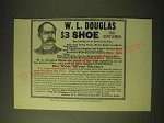 1893 W.L. Douglas Shoes Ad - W.L. Douglas $3 Shoe for Gentlemen