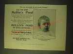 1893 Mellin's Food Ad - Watkins Benerman - Give the Baby Mellin's Food