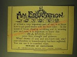 1893 Sapolio Soap Ad - An Education