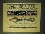 1893 1847 Rogers Bros. Orange Spoon Ad - Silver ware of the highest grade
