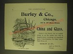 1893 Burley & Co. Ad - Burley & Co., Chicago 145 & 147 State Street