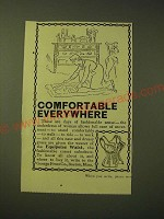 1893 Equipoise Waist Corset Ad - Comfortable Everywhere