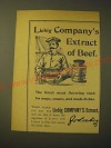 1893 Liebig Company's Extract of beef Ad - The finest meat flavoring stock
