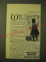 1893 Chocolat menier Ad - Why can the Chocolat Menier be said to be the best
