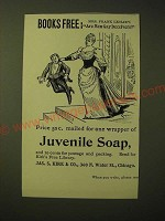 1893 Kirk's Juvenile Toilet Soap Ad - Are Men Gay Deceivers