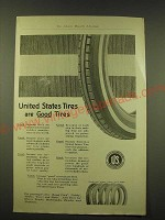 1918 United States Tires Ad - United States Tires are Good Tires