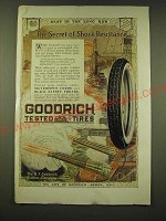1918 Goodrich Silvertown Cord Tires Ad - Best in the long run