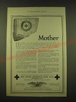 1918 Red Cross Christmas Roll Call Ad - Mother