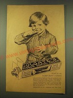 1918 Colgate's Ribbon Dental Cream Ad - Look for me in your dealer's window