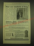 1918 American Radiator Company American Radiators & Ideal Boilers Ad - Standards